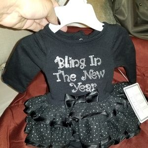 Newborn girls Bling in the New Year